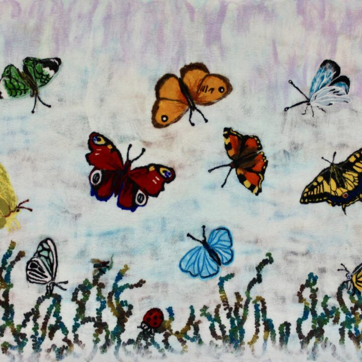 Butterflies (Felt-work)