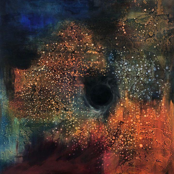 Star dust, black hole