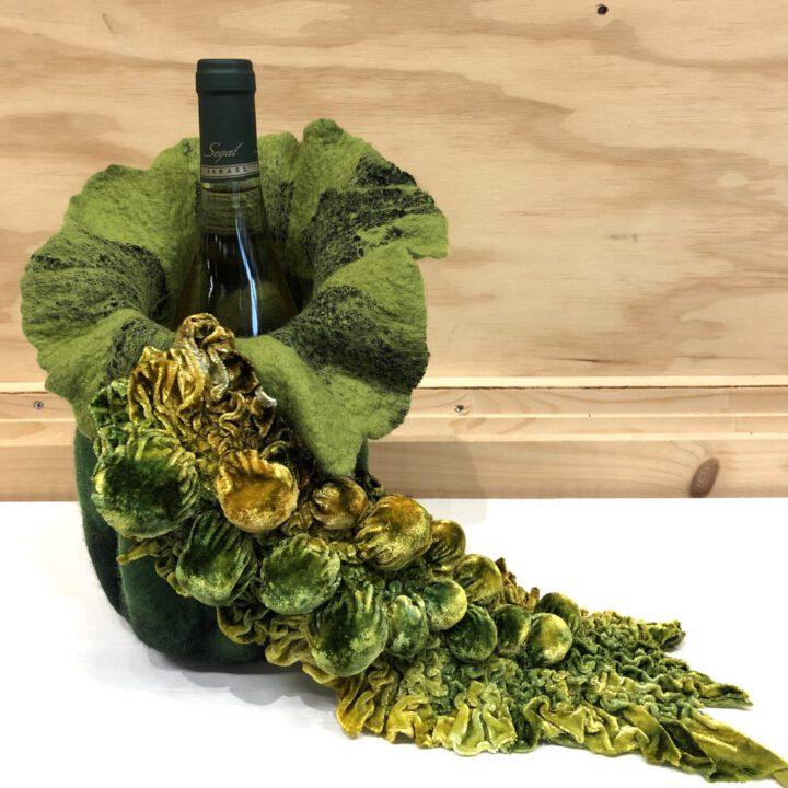 Bottle holder 3 Feltwork